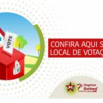 PED 2019. Locais de Votação