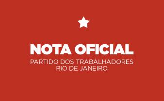 nota ptrj 338x210 - Nota do PT-RJ sobre o posicionamento do Liedio Luiz da Silva em sua Live
