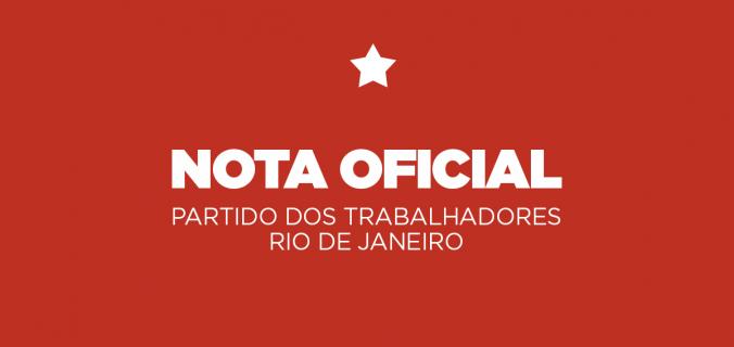 nota ptrj 676x320 - Nota do PT-RJ sobre o pronunciamento de Jair Bolsonaro