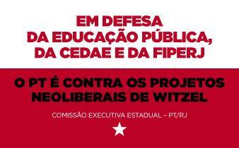 contra witzel2 338x210 - O PT É CONTRA OS PROJETOS NEOLIBERAIS DE WITZEL