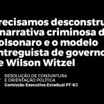 RESOLUÇÃO DE CONJUNTURA E ORIENTAÇÃO POLÍTICA