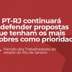 Resolução do Diretório Estadual do PT sobre Conjuntura do estado do Rio de Janeiro