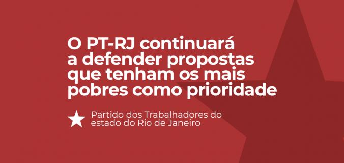 ptrj defendentdo o povo 2 676x320 - Resolução do Diretório Estadual do PT sobre Conjuntura do estado do Rio de Janeiro