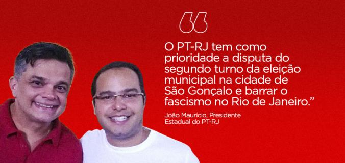 dimas site 676x320 - PT-RJ estabelece sua prioridade no segundo turno da eleição municipal